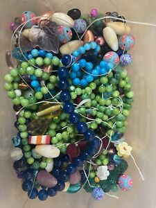 beads for jewellery making job lot