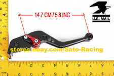 For Yamaha FZ6 600 FAZER/S2 2004-2010 / FZ6R 2009-2015 Brake Clutch Lever Set US