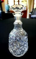Beautiful Heavy Crystal Vintage Decanter