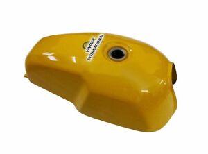 Fits Royal Enfield GT Continental 535 cc Petrol Gas Fuel Tank Yellow Color @Vi