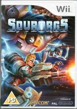 SPYBORGS GAME WII ~ NEW / SEALED