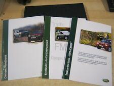 LAND ROVER FREELANDER OWNERS MANUAL HANDBOOK SERVICE BOOK 1997-2003 INC WALLET