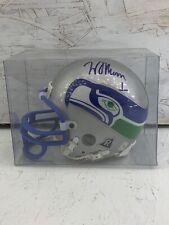 Warren Moon Signed Mini Helmet Seattle Seahawks