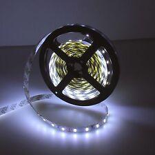 16.4ft 5730 300SMD White DIY LED Strip Light Flexible Car Lamp DC 12V