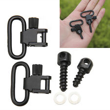 Outdoor Gun Rifle Sling Swivels Sport Detachable Hunting Mounting Set /w Screw