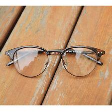 1920s Vintage oliver retro eyeglasses 52R67 Leopard round frames kpop peoples