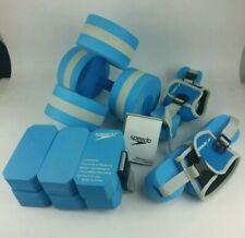 Speedo Aquatic Fitness Combo Set Belt Barbells Resistance Runners Aerobic Manual