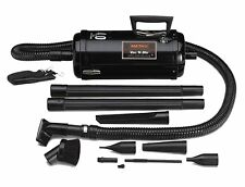 Metropolitan 4.0-HP Vac 'n' Blo Compact Vacuum - Model VNB-83BA in Steel Black