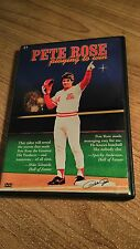 Pete Rose - Playing To Win (DVD, 2003) includes Insert & Baseball Card