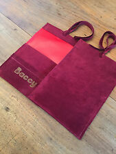 Tobacco Pouch, Baccy Pouch Made from Wine Pig Suede leather & Laser etched