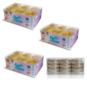 Pufai Puff Clean  Makeup Remover Wipes Capsules 72 Capsules 3 Box