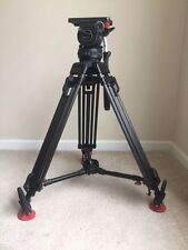 Sachtler VIDEO 18 P + Carbon Fiber Tripod 18P 100mm