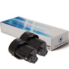 Lot de 2 batteries 12V 2000mAh pour AEG BS12C BLL12C BS12C2 BSS12C BWS12
