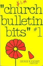 Church Bulletin Bits