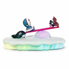 Frosty Friends Seesaw Shenanigans Table Decoration With Light, Sound and Motion