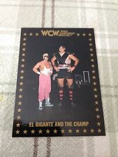 WCW Trading Cards 1991 El Gigante And The Champ #96 Championship Marketing, Inc.