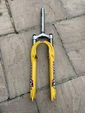Manitou SX Ti retro yellow 100mm susoension forks
