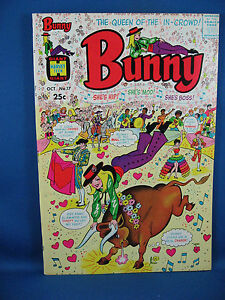 BUNNY 17 File Copy Bull Fighting Cover 1970