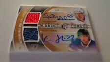 2011-12 SPX Hockey Dual Auto Jersey Card Erik Karlsson & Victor Hedman #2/5