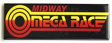 Omega Race Marquee FRIDGE MAGNET (1.5 x 4.5 inches) arcade video game header