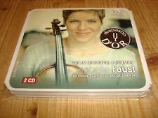 Isabelle Faust Violinkonzerte & Sonaten Harmonia Mundi 2cd signed signé
