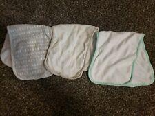 Lot Of 3 Cloud Island Burp Cloths