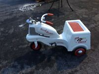Vintage Murray Good Humor Ice Cream Pedal Car Delivery Truck