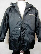 NWT Barents Legend Zip Out Lining Black Parka Coat Size M