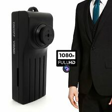 1080P SPY PULSANTE Fotocamera Cam DVR Rilevamento del movimento video registrazione audio 2017