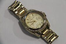 Michael Kors Blair Champagne Dial Gold Tone Multifunction Glitz Watch MK-5639