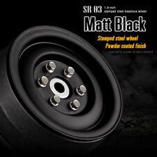 Gmade 1/10 SCALE TRUCK RIMS 1.9 STEEL STAMP Beadlock Wheels BLACK  #GM70184