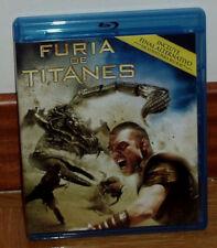FURIA DE TITANES COMBO BLU-RAY+DVD NUEVO ACCION AVENTURAS CINE FANTASTICO R2