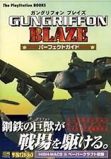 Gun Griffon Blaze Perfect Guide Book/ PS2