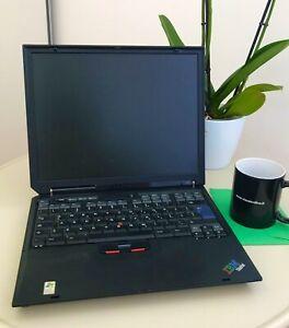 "PC portatile vintage Laptop IBM X31 12.1"" 512MB RAM, 40GB HDD,XPpro"
