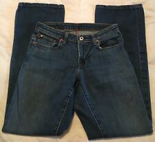 2c31d1ddceb Women Jeans Size 6 Polo Ralph Lauren Low Rise Stretch Kelly Boot Cut Dark  Denim