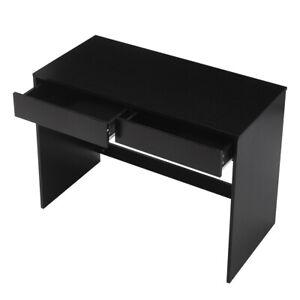 2 Drawer Dressing Table Computer Desk 100c Wooden Vanity Bedroom Furniture