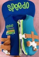 Speedo Infant up to 30 lbs Neoprene Life Jacket Vest PFD ll Blue orange surf van