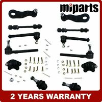 Front Suspension Kit Ball Joints Idler Arm Tie Rod Ends Fit for Chevy K1500