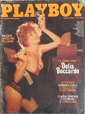 PLAYBOY MARZO 1980 DELIA BOCCARDO CLAUDIA GIORDANI BARBARA D'URSO