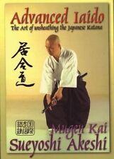 Advanced Mugen Kai Ryu Iaido Samurai Sword Katana Paperback Book Sueyoshi Akeshi