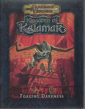 Forging Darkness SC  D&D RPG  Kingdoms of Kalamar  3.0/3.5  NEW (EX) OOP