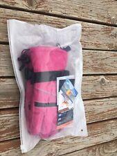 Andake Aquatrail Ski Gloves 3M Thinsulate Waterproof -Pink/Gray Brand New. Women