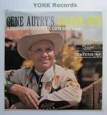 GENE AUTRY - Golden Hits - Excellent Condition LP Record RCA Victor RD-7839