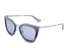 50fa337c2a Prada SPR53S UFV-3C2 Cinema Gray Silver Mirrored Gradient Sunglasses  52 21 140