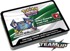 POKEMON TCG SM TEAM UP PTCGO : ONLINE VIRTUAL CODE CARD X 100