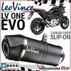POT D'ECHAPPEMENT LEOVINCE LV ONE EVO CARBONE 8701 EVO II HONDA NC 750 DCT 2014