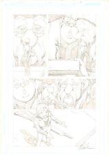 Fables #51 p.2 - Cinderella Negotiating Treaty with Giants - 2006 Shawn McManus Comic Art