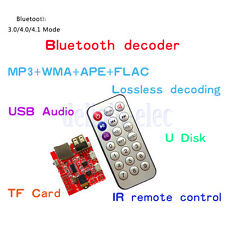 4.1 Bluetooth MP3 Decoding Board Car Speaker Refit Module With Remote Control DE