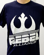 Star Wars Rebel Alliance Rebellion Symbal Sign Logo Navy Blue X Small T Shirt XS