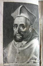 1626+ BELLARMINO IEFU LACRYMARUM LIVRE GRAVURES RELIGION THEOLOGIE COLOGNE BIBLE